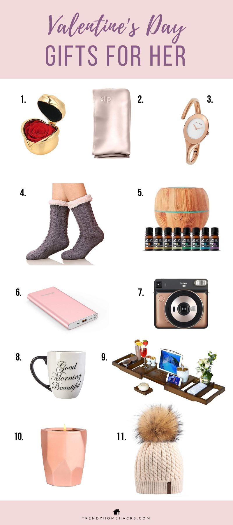 2019 Valentine S Day Gift Guide For Him And Her Trendy Home Hacks