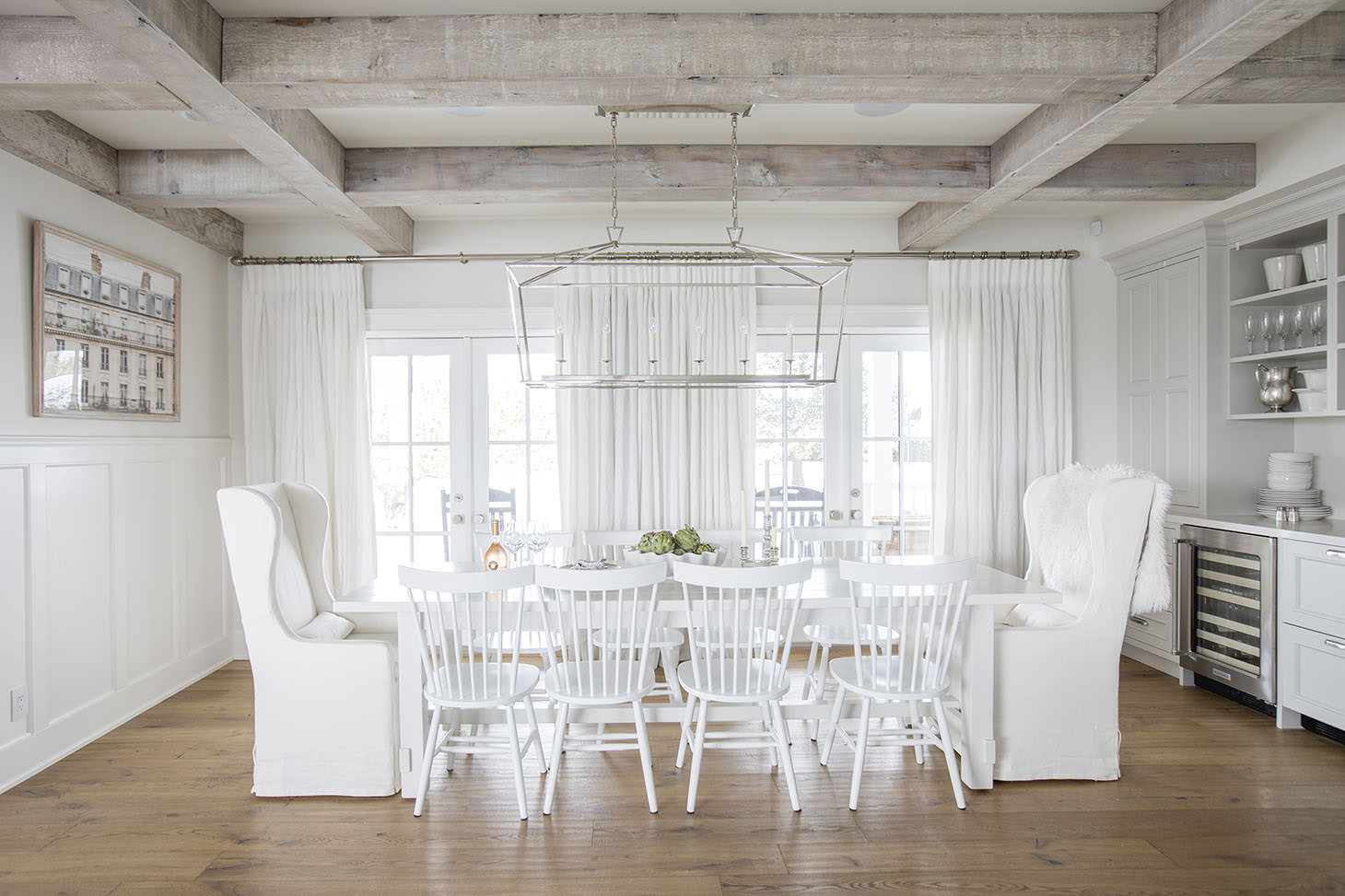 How to get the Farmhouse Style Dining Room